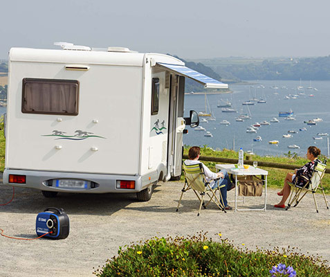 Choosing a generating set for leisure and caravanning